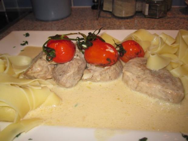 Schweinefilet in Gorgonzolasauce - Rezept - Bild Nr. 2