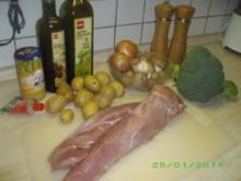 Mariniertes Schweinefilet - Rezept