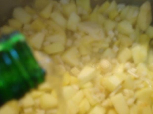 Apfel - Meerrettichcremesüppchen mit raffinierter Speckmarmelade - Rezept - Bild Nr. 9