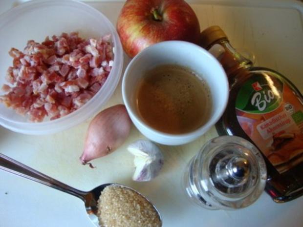 Apfel - Meerrettichcremesüppchen mit raffinierter Speckmarmelade - Rezept - Bild Nr. 11