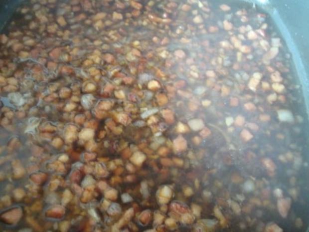 Apfel - Meerrettichcremesüppchen mit raffinierter Speckmarmelade - Rezept - Bild Nr. 15