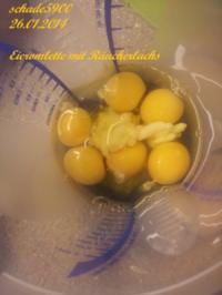 Eieromlette mit Räucherlachs - Rezept