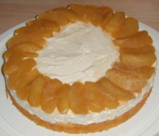 Kuchen mit mascarpone und quark
