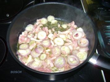 Rezept: Hähnchen in lieblicher Weißweinsoße