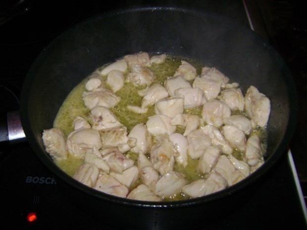 Hähnchen in lieblicher Weißweinsoße - Rezept - Bild Nr. 6