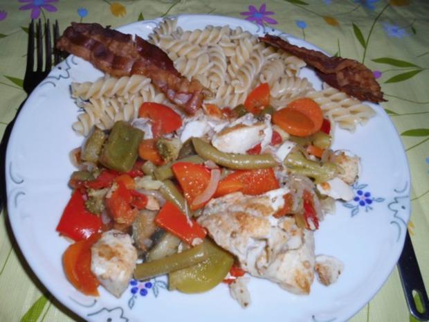 Fisch: Fischfilet küsst Mittelmeer - Rezept