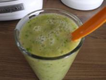 Smoothies : Mein erster grüner Smoothie - Rezept