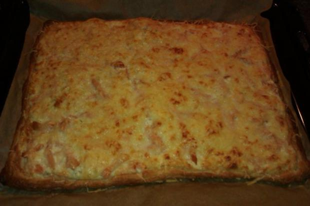 Schwedenpizza - Rezept