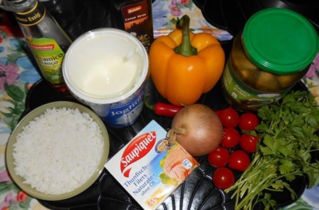 Reis-Paprika-Thunfisch-Salat - Rezept - Bild Nr. 2