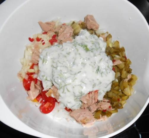 Reis-Paprika-Thunfisch-Salat - Rezept - Bild Nr. 11