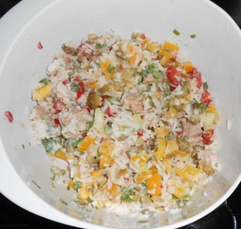 Reis-Paprika-Thunfisch-Salat - Rezept - Bild Nr. 12
