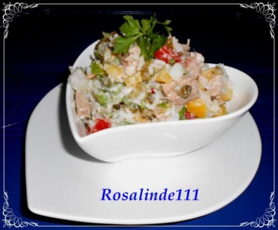 Reis-Paprika-Thunfisch-Salat - Rezept - Bild Nr. 13