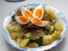 Rosenkohl mit Ei und Kartoffeln - Rezept