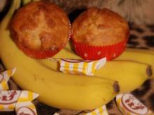 Bananen-Karamell-Muffins - Rezept