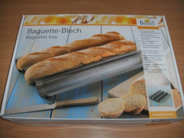 Backen: Baguette - Rezept - Bild Nr. 2