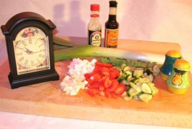 Jamaican Jerk Chicken (Hähnchen geräuchert, mariniert mit Chilie und Gewürzen. Scharf.) - Rezept