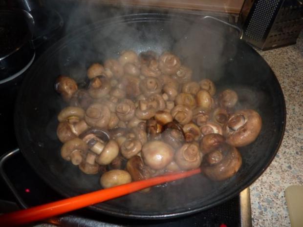 Vegetarisch: Pilzpfanne - Rezept - Bild Nr. 7