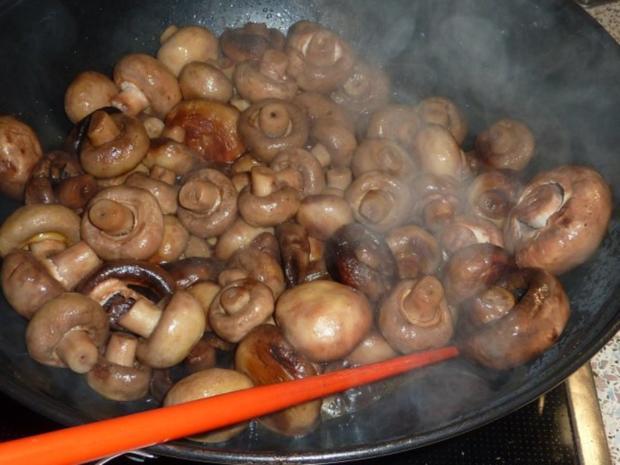Vegetarisch: Pilzpfanne - Rezept - Bild Nr. 8