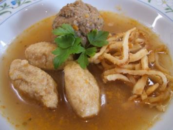Suppeneinlage: Knoblauchnocken - Rezept