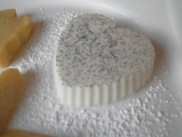 Lavendel Panna Cotta und Mango - Mousse ... - Rezept - Bild Nr. 5