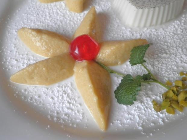 Lavendel Panna Cotta und Mango - Mousse ... - Rezept - Bild Nr. 8