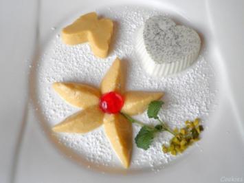 Rezept: Lavendel Panna Cotta und Mango - Mousse ...
