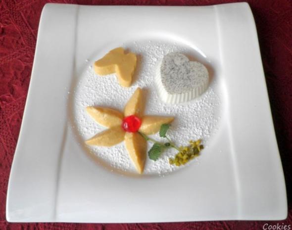 Lavendel Panna Cotta und Mango - Mousse ... - Rezept - Bild Nr. 2