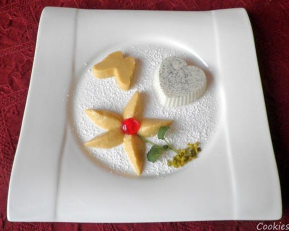 Lavendel Panna Cotta und Mango - Mousse ... - Rezept - Bild Nr. 16