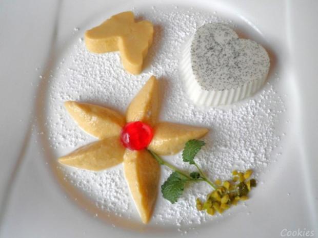 Lavendel Panna Cotta und Mango - Mousse ... - Rezept - Bild Nr. 17