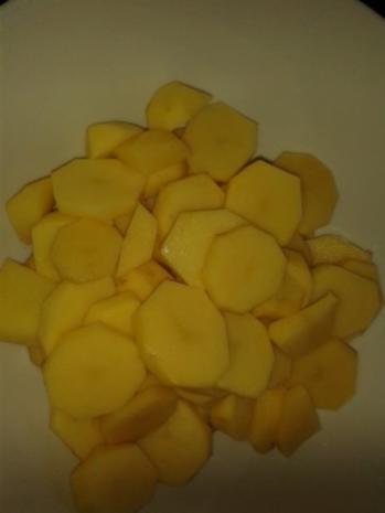 Hirschfilet-Spießchen mit Kartoffelchips - Rezept - Bild Nr. 9