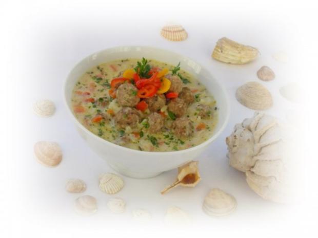 Supa Toptscheta-bulgarische Suppe mit Hackfleisch-Bällchen - Rezept - Bild Nr. 2