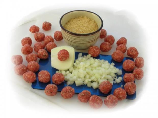 Supa Toptscheta-bulgarische Suppe mit Hackfleisch-Bällchen - Rezept - Bild Nr. 5