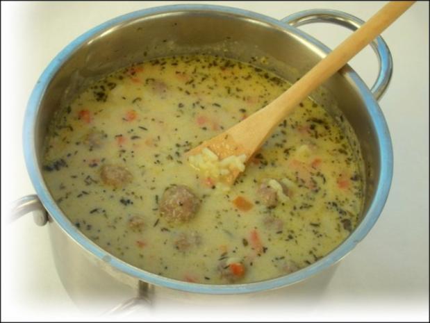 Supa Toptscheta-bulgarische Suppe mit Hackfleisch-Bällchen - Rezept - Bild Nr. 13