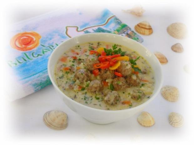 Supa Toptscheta-bulgarische Suppe mit Hackfleisch-Bällchen - Rezept - Bild Nr. 14