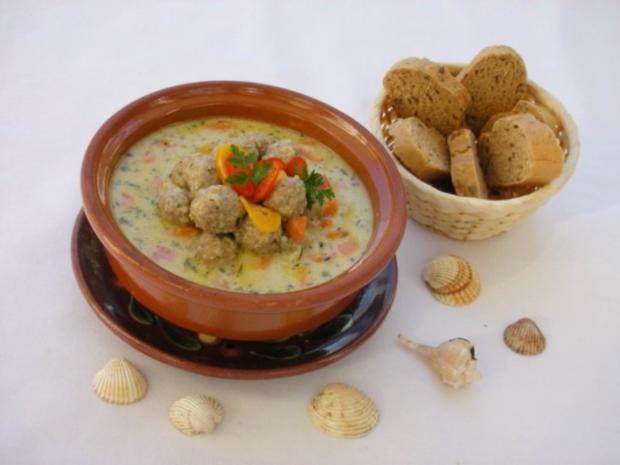 Supa Toptscheta-bulgarische Suppe mit Hackfleisch-Bällchen - Rezept - Bild Nr. 15