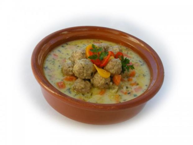 Supa Toptscheta-bulgarische Suppe mit Hackfleisch-Bällchen - Rezept - Bild Nr. 16