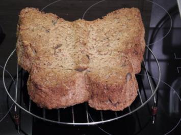 Brot & Brötchen : Einfaches und schnelles Brot  (reicht für 2 Brote ) - Rezept