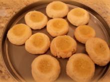 Plätzchen mit Lemon Curd - Rezept