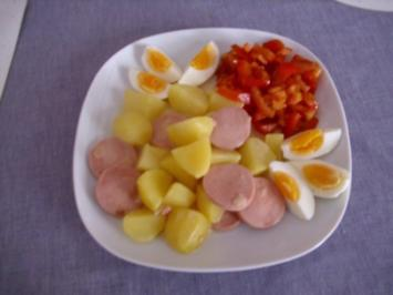 Oma Erna´s Kartoffeln durch... - Rezept