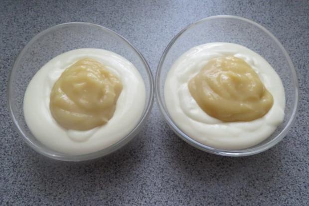 Dessert: Zitronenquark mit Mangopüree - Rezept - Bild Nr. 4