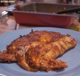 Cannelloni mit Kalbfleisch-Kräuterseitlings-Füllung - Rezept