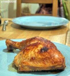 Verschärft marinierte Hähnchenkeulen - Rezept
