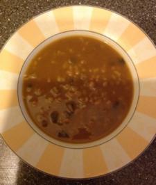 Bohnensuppe mit asiatischem Touch - Rezept