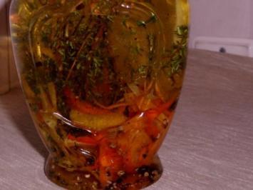 Öl: Zitronen-Orangen-Öl mit Thymian - Rezept