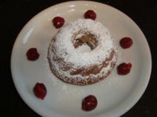 Schoko - Kirsch Minigugelhupf - Rezept