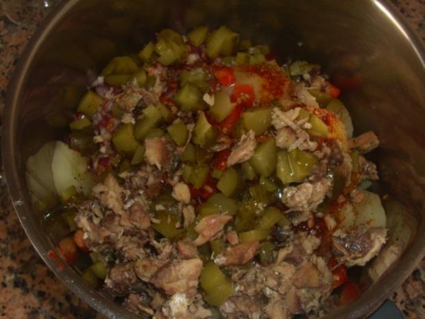 Kartoffelsalat mit Sardinen - Rezept - Bild Nr. 3