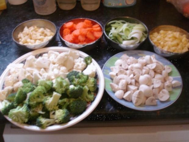 Hühnchen-Gemüse-Eintopf - Rezept - Bild Nr. 4