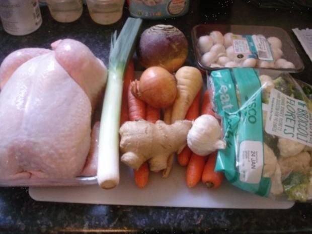 Hühnchen-Gemüse-Eintopf - Rezept - Bild Nr. 2