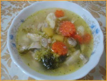 Rezept: Hühnchen-Gemüse-Eintopf