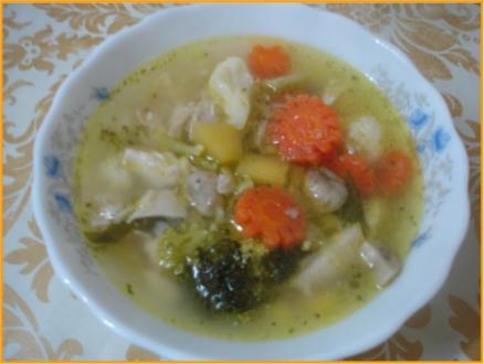 Hühnchen-Gemüse-Eintopf - Rezept